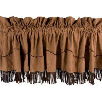 Fringed Barbwire Valance