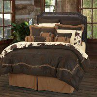 Chocolate Barbwire Comforter Sets