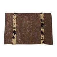 Caldwell Cowhide Placemats - Set of 4