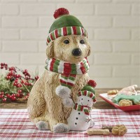 Holiday Paws Cookie Jar
