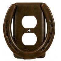 Horse Shoe- Heavy Metal Switch Plates