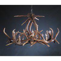 Big Horn Faux Elk Antler Chandelier