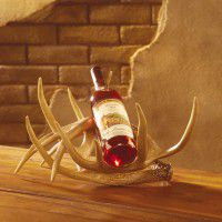 Faux Antler Wine Rack