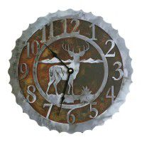 Whitetail Deer Clocks