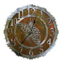 Pine Cone Clocks