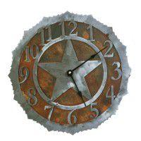 Texas Star Clocks  sc 1 st  The Cabin Shop & Western Decor - Western Bedding - Western Lighting - Texas Star decor