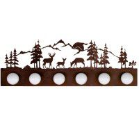 Deer Family Strip Lights - 2 Sizes Available