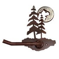 Pine Tree and Burnished Moon Bathroom Accessories