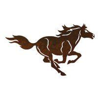 Horse One Metal Wall Art