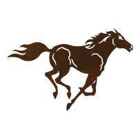Horse Three Metal Wall Art