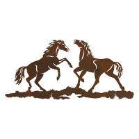 Wild Horses Metal Wall Art