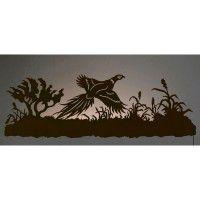 Pheasant Back Lit Wall Art