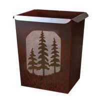 Pine Tree Waste Basket