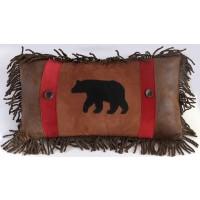 Rambling Bear Pillow 14 x 26