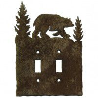 Bear Light Switch Plates