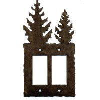 Pine Tree GFI/Rocker Switch Plates
