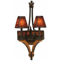 Aspen Mountain Double Sconce