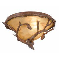 Ponderosa Flush Mount Ceiling Light