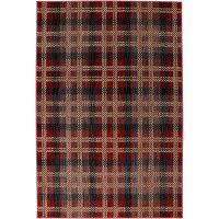 Billings Crimson Plaid Area Rugs