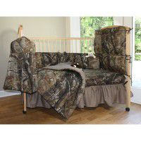 All Purpose Camo Baby Bedding