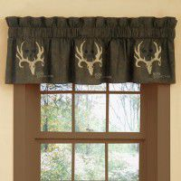 Bone Collector Drape and Valance