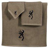 Browning Buckmark Towel Set - 3 Pcs
