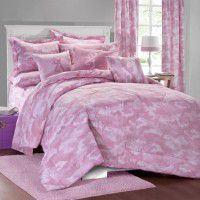 Buckmark Pink Camo Bedding