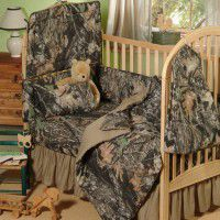 New Break Up Camo Baby Bedding