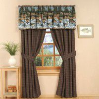 River Fishing Window Treatments