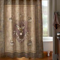 Whitetail Ridge Shower Curtain