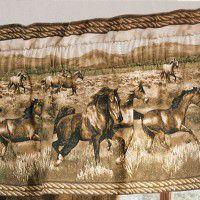 Wild Horses Valance