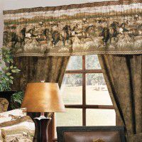 Wild Horses Window Treatment