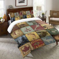 Lodge Patch Duvet Cover