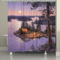 Moon Dance Shower Curtain