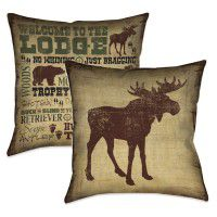 Welcome to the Lodge Pillow