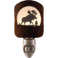 Moose Scene Night Light -Limited Edition