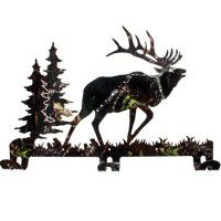 Camo Elk Coat Rack - DISCONTINUED