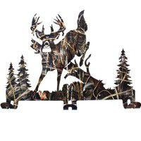 Jumping Buck Camo Coat Rack -DISCONTINUED