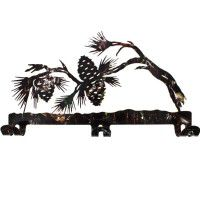Camo Pine Cone Coat Rack - DISCONTINUED