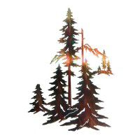 Forest Metal Wall Art-DISCONTINUED limited available