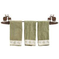 Buck and Doe Towel Bar-DISCONTINUED