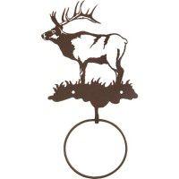 Bull Elk Towel Ring-CLEARANCE