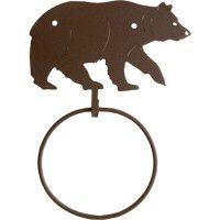 Black Bear Towel Ring-DISCONTINUED