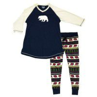 Bear Fair Isle Leggings & Tee