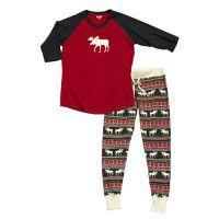 Moose Fair Isle Leggings and Tee