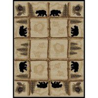 Toccoa Bear Area Rugs