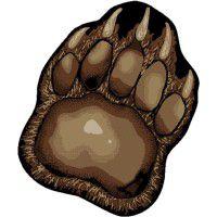 Bear Paw Area Rug