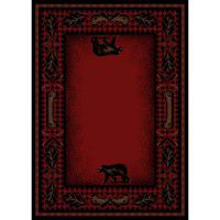 Woodland Plaid Area Rugs