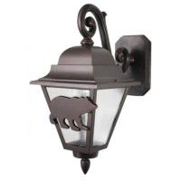 North Ridge Bear Hanging Lanterns - Available in 2 Sizes