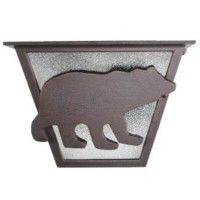 North Ridge Bear Ceiling Light-Tapered